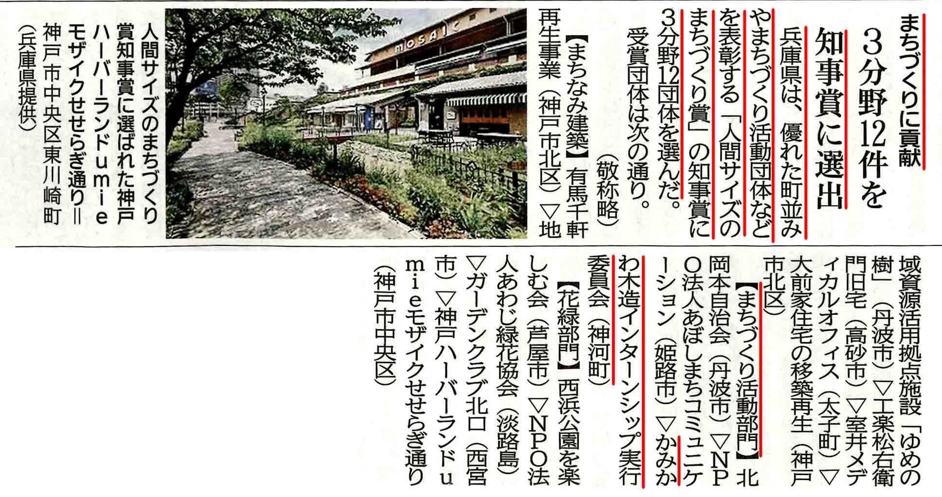 兵庫県知事賞_神戸新聞